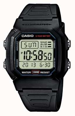 Casio Sportuitrusting alarm chronograaf digitaal W-800H-1AVES