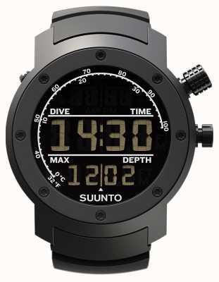 Suunto Elementum aqua zwart rubber SS014528000