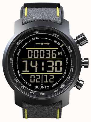 Suunto Elementum terra zwart / geel leder SS019997000