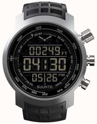 Suunto Elementum terra zwart rubber SS014522000