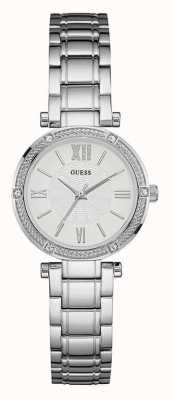 Guess Womens park ave zuiden van roestvrij staal W0767L1