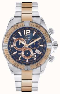 Gc Mens gc sportracer two tone chronograaf Y02002G7