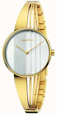 Calvin Klein Womens drift goud K6S2N516