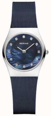 Bering | blauwe band blauwe wijzerplaat | 11927-307