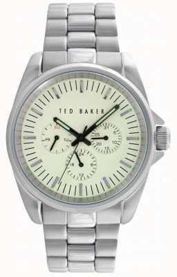 Ted Baker Heren 42 mm met 24-uurs sub wijzerplaat en datum TE10025264