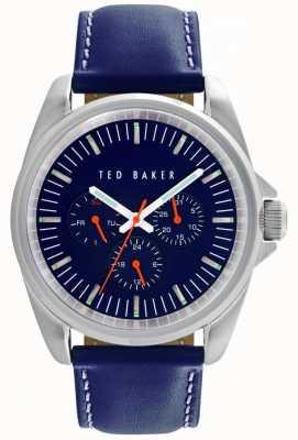 Ted Baker 42mm ss mf blauwe wijzerplaat TE10025259