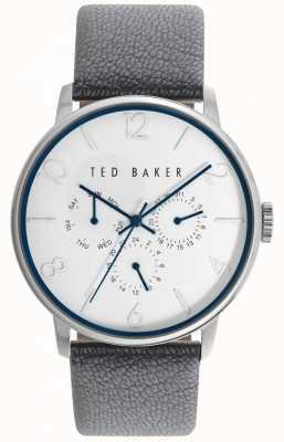 Ted Baker Unisex 42mm case wit gezicht TE10029567