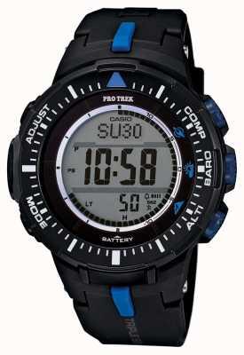 Casio Mens PROTREK alarm hars strap PRG-300-1A2ER