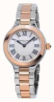 Frederique Constant Classics verrukking vrouwen metalen armband rose goud verguld FC-200M1ER32B