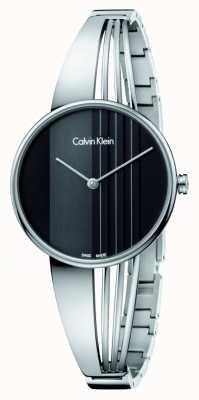 Calvin Klein Drift horloge met zwarte wijzerplaat K6S2N111