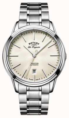 Rotary Mannen les originales traditie automatisch horloge GB90161/32