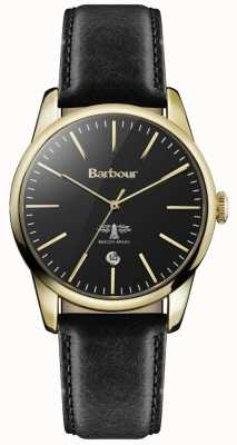 Barbour Leighton uniseks horloge BB049GDBK