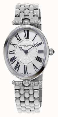 Frederique Constant Womens art deco ovale roestvrij stalen armband FC-200MPW2V6B