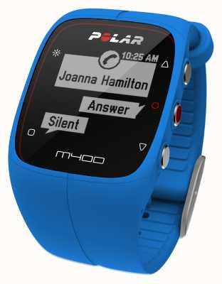 Polar Unisex M400 bluetooth gps (blauw) activiteit tracker 90057185