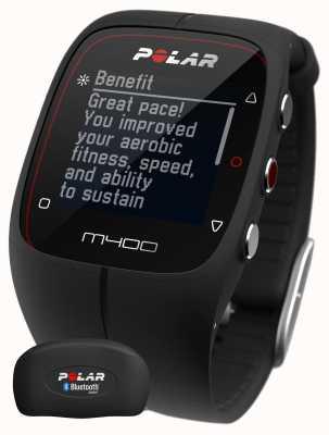 Polar Unisex M400 bluetooth gps (zwart met hr) activiteit tracker 90051341