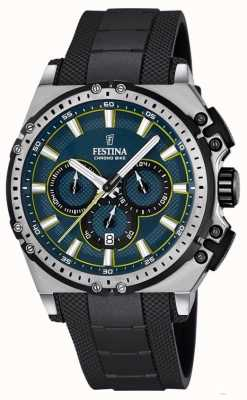 Festina 2016 chronobike heren chronograaf horloge zwart F16970/3
