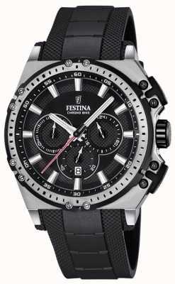 Festina 2016 chronobike heren chronograaf horloge zwart F16970/4