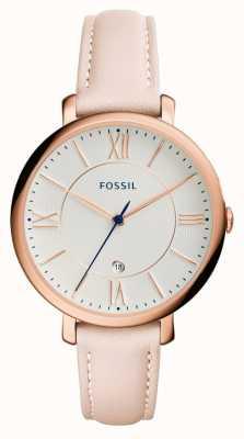Fossil Vrouwen jacqueline blush lederen band ES3988