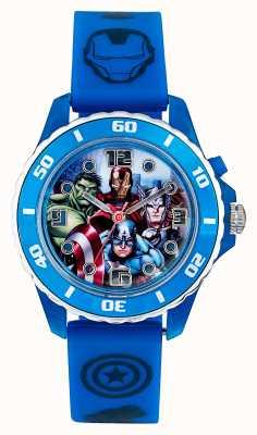 Avengers Childrens avengers blauwe riem karakter wijzerplaat AVG3506