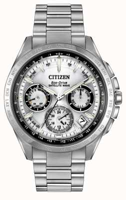 Citizen Mens eco-rijden zilveren satelliet golf F900 CC9010-74A