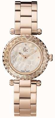 Gc Womens mini chique rose goud pvd verguld X70043L1S