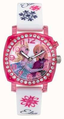 Disney Frozen Elsa en anna lightup roze hoesje witte siliconenbandje FZN3789
