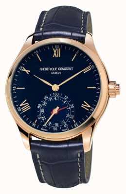 Frederique Constant Uurwerken SmartWatch blauwe roos goud bluetooth FC-285N5B4