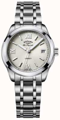 Rotary Womens les originales legacy roestvrij staal LB90173/06