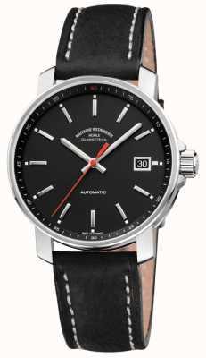 Muhle Glashutte 29er automatisch horloge | zwart lederen band M1-25-23-LB