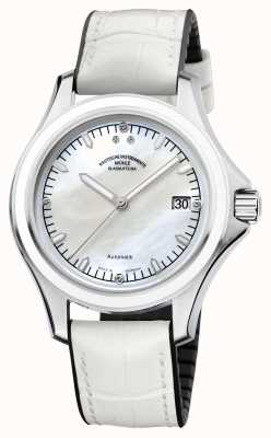 Muhle Glashutte Promare dame synthetische band mop dial M1-42-25-NB