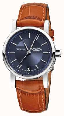 Muhle Glashutte Teutonia ii medium automatisch horloge M1-30-22-LB