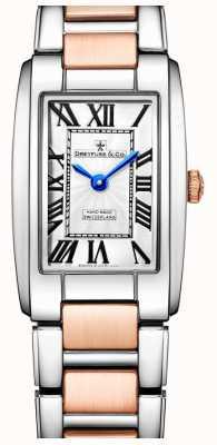 Dreyfuss Elegance two tone rose gouden horloge DLB00147/01