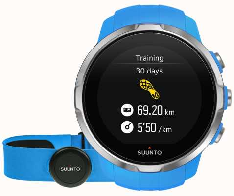 Suunto Spartaanse sport blauw (hr riem) SS022652000