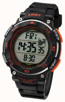 Limit Heren sport horloge zwarte band 5485.01