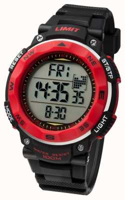 Limit Heren sport horloge zwarte band 5486.01