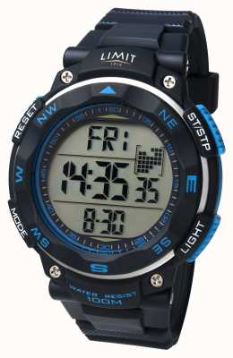 Limit Heren sport horloge zwarte band 5487.66