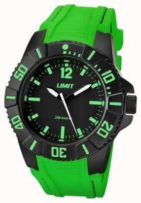 Limit Groene wijzerplaat actieve groene band heren 5548.02