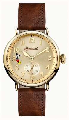 Disney By Ingersoll Mens union the trenton disney limited edition bruin leer ID01201