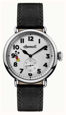 Disney By Ingersoll Mens union the trenton disney limited edition zwart leer ID01202