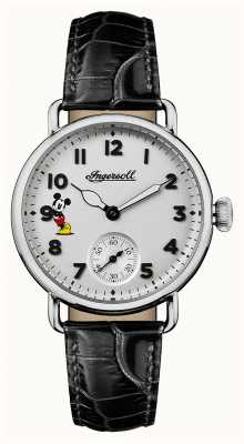 Disney By Ingersoll Women union the trenton disney limited edition zwart leer ID00101