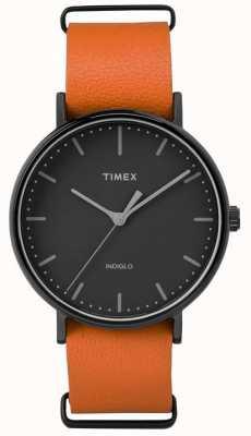 Timex Unisex weekender fairfield zwarte wijzerplaat TW2P91400