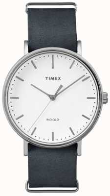 Timex Unisex weekender fairfield witte wijzerplaat TW2P91300