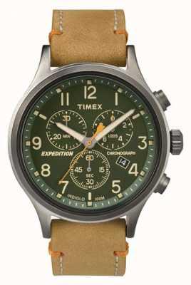 Timex Mens scout chronograaf groene wijzerplaat TW4B04400
