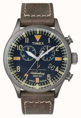 Timex Mens de Waterbury chronograaf marine dial TW2P84100