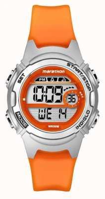 Timex Childrens marathon alarm chronograaf oranje TW5K96800
