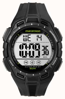 Timex Mens iron man marathon alarm zwart TW5K94800
