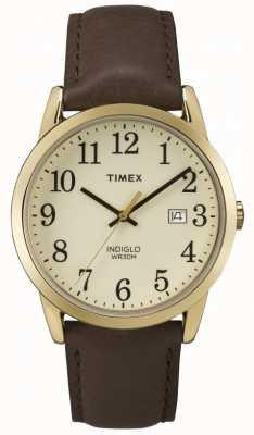 Timex Mens gemakkelijk lezer cream dial TW2P75800