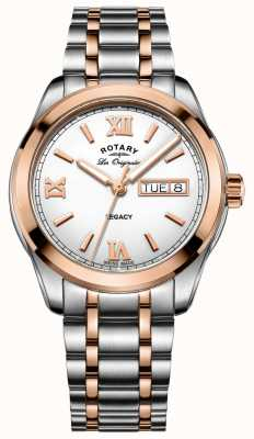Rotary Heren two tone legacy horloge GB90175/06