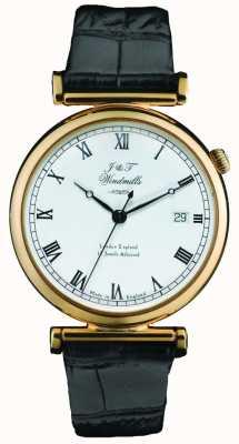 J&T Windmills Mens mechanisch bartholomew gouden horloge WGS50003/09