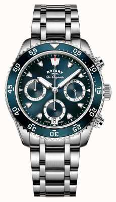 Rotary Mens Zwitsers maakte legacy dive chronograph GB90170/05